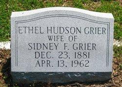 Ethel <i>Hudson</i> Grier