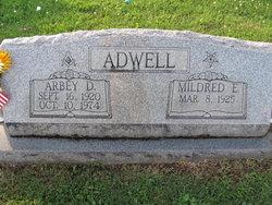 Mildred Elizabeth <i>Mahaney</i> Adwell