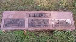 Alice Purmelia <i>Hooper</i> Elledge