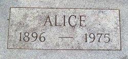 Alice <i>Jenkins</i> George