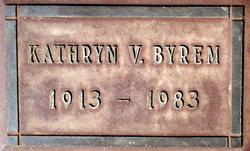 Kathryn Van <i>Stone</i> Byrem