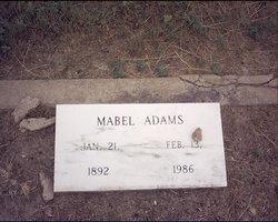 Mabel Adams