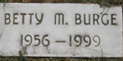 Betty <i>Myers</i> Burge