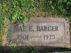 Mae E <i>Lehr</i> Barger