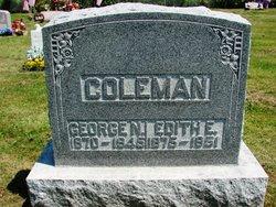 Edith E <i>Hankinson</i> Coleman