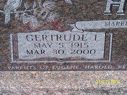 Gertrude Irene <i>Hunt</i> Holeman