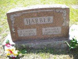Minnie Alma <i>Langston</i> Harber