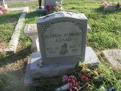 Alfreda <i>Hubbard</i> Adams