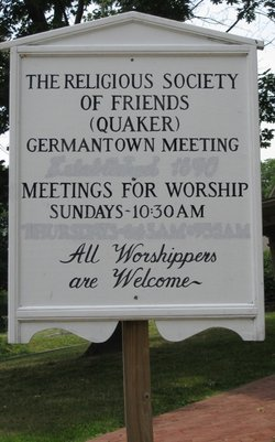 Germantown Preparatory Meeting of Friends Cemetery