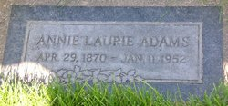 Annie Laurie <i>Penrod</i> Adams