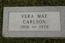 Vera Mae <i>Huggins</i> Carlson