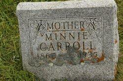 Minnie May <i>Patch</i> Carroll