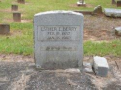 Esther E <i>Chappell</i> Berry