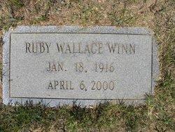 Ruby Virginia <i>Wallace</i> Winn