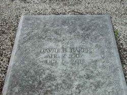David Benjamin Baker