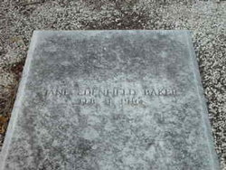 Martha Jane Mit <i>Edenfield</i> Baker