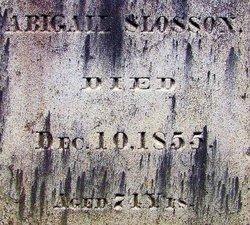 Abigail Slosson