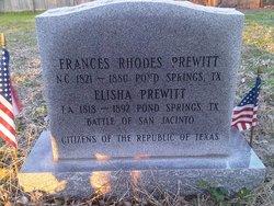 Frances <i>Rhodes</i> Prewitt