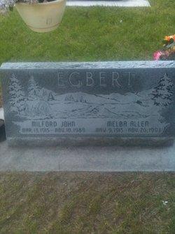 Melba <i>Allen</i> Egbert