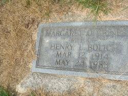 Margaret O. <i>Griner</i> Bolich