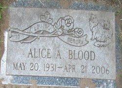 Alice Amelia <i>Woods</i> Blood