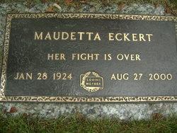 Maudetta  Aunt Maude <i>Breden</i> Eckert