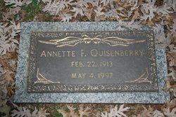Annette <i>Fischer</i> Quisenberry