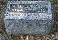 Sara A. Sallie <i>Quinn</i> Adams
