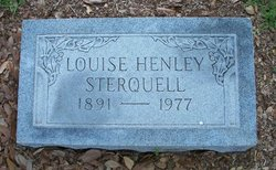 Mary Louise Louise <i>Henley</i> Sterquell