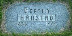 Bertha <i>Thompson</i> Hanstad