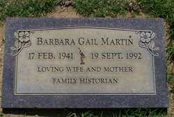 Barbara Gail Martin