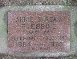 Elizabeth Annie <i>Stream</i> Blessing