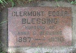 Clermont Edgar Blessing, Sr