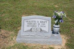 Violette <i>Overbeck</i> Kraft