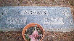 Nancy Jane <i>Granger</i> Adams
