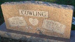 Mary Edith <i>Gregory</i> Cowling