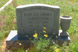 Elma Lee <i>Grimes</i> Cunningham