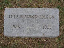Lula <i>Fleming</i> Colson