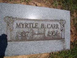 Myrtle <i>Burnett</i> Carr