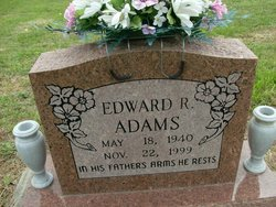 Edward R Eddie Adams