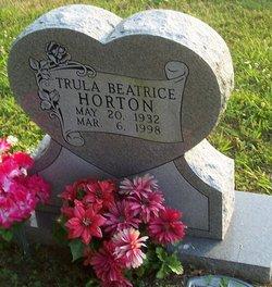 Trula Beatrice <i>Lawson</i> Horton