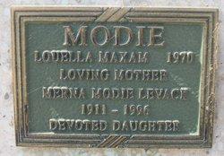 Louella <i>Maxam</i> Modie