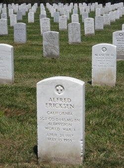 Sgt Alfred Ericksen