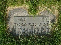 Thomas Ruel Adams