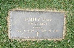 Corp James G. Shay