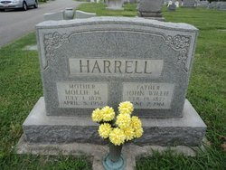 Mollie <i>Mansfield</i> Harrell