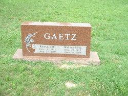 Russell R Gaetz