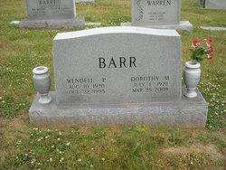 Wendell Parren Barr
