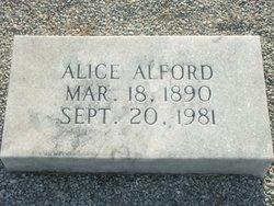 Alice Gertrude Alford