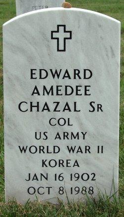Col Edward Amedee Chazal, Sr